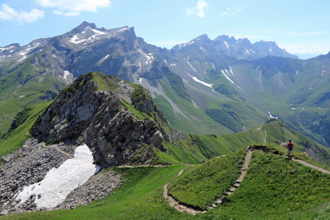 Pfälzerhütte hike