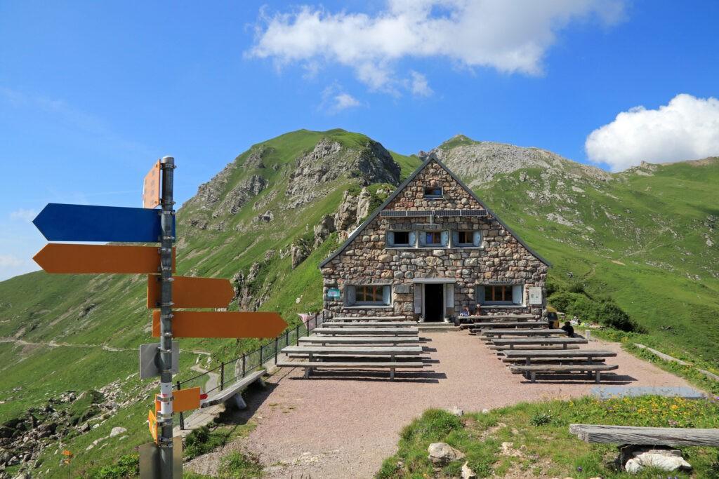 Liechtenstein Pfälzerhütte
