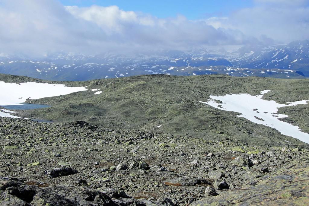 Mugnetind hike top