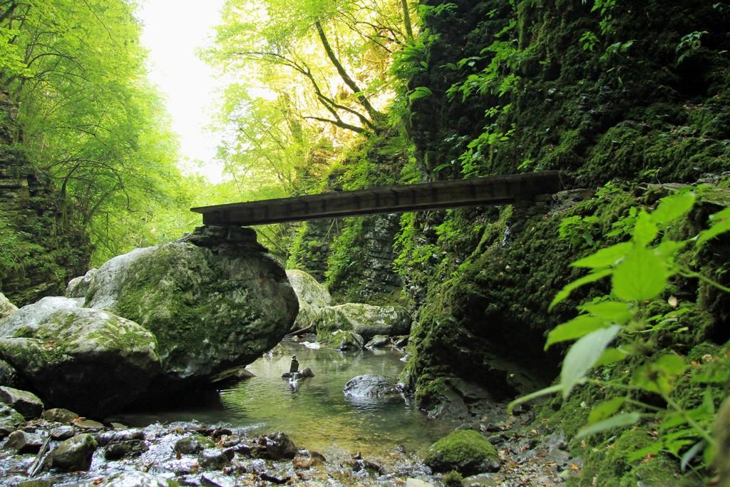 Watervallen Slovenië Kozjak