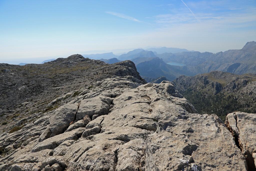 Mallorca Massanella summit