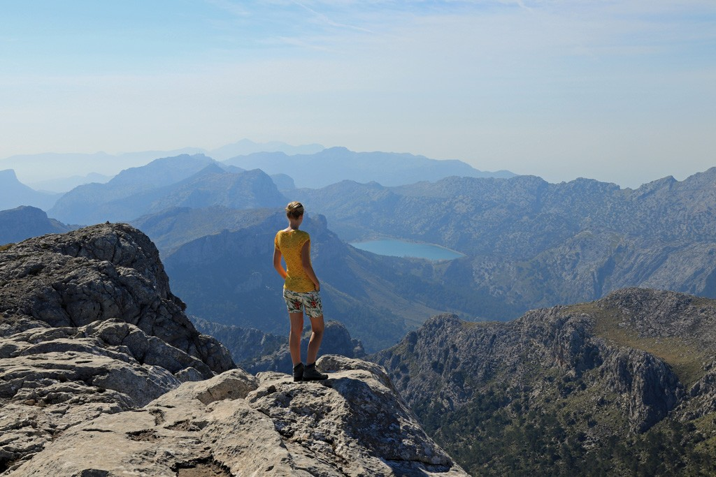 Mallorca Massanella summit