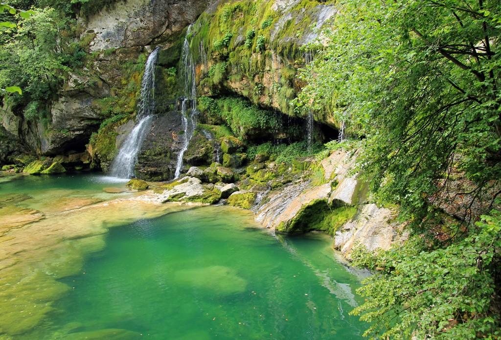 Watervallen Slovenië Virje