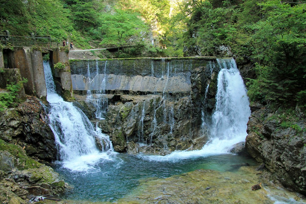 Vintgarkloof waterval