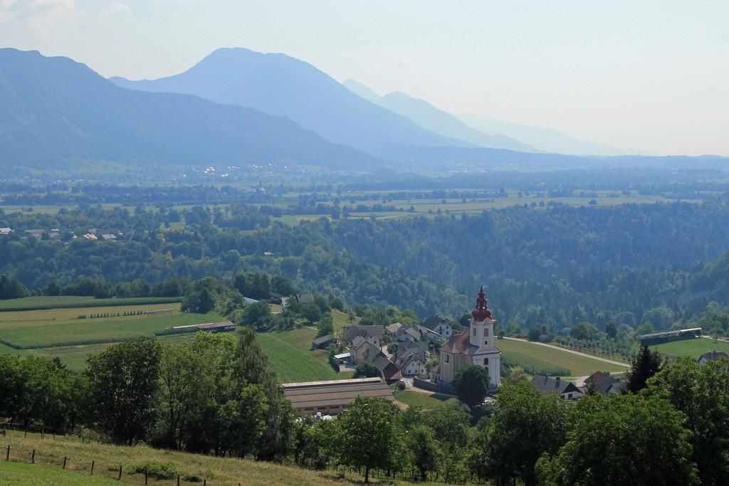 Vintgarkloof uitzicht Bled