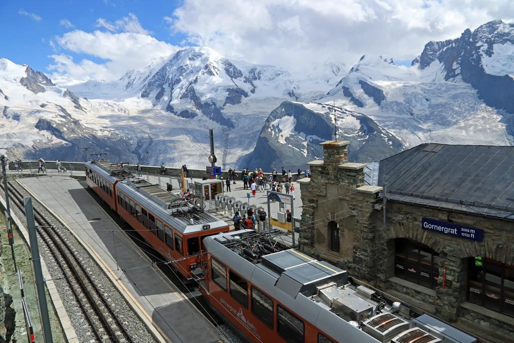 Gornergrat train