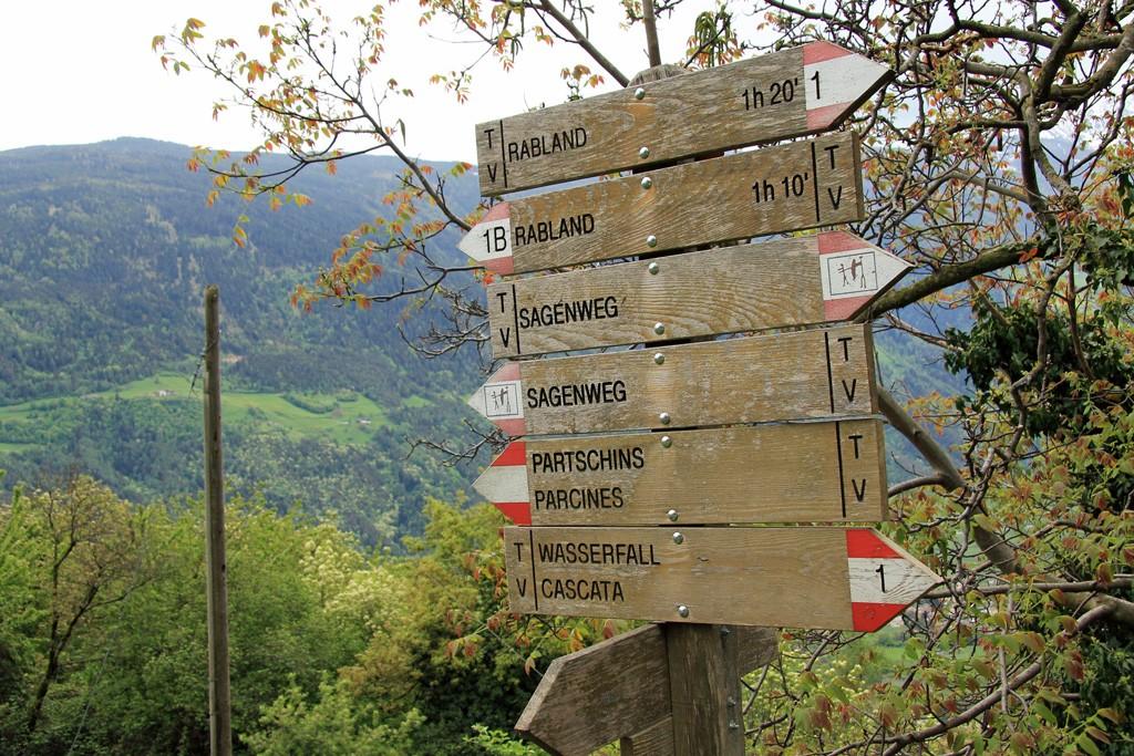 Parcines Partschinser hike