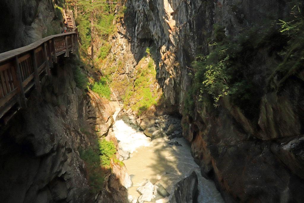 Zermatt Gornerschlucht