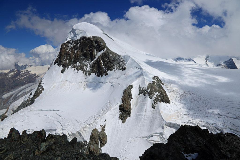 Matterhorn Glacier Paradise uitzicht Breithorn
