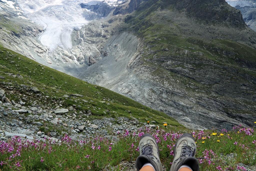 Ferpècle gletsjer