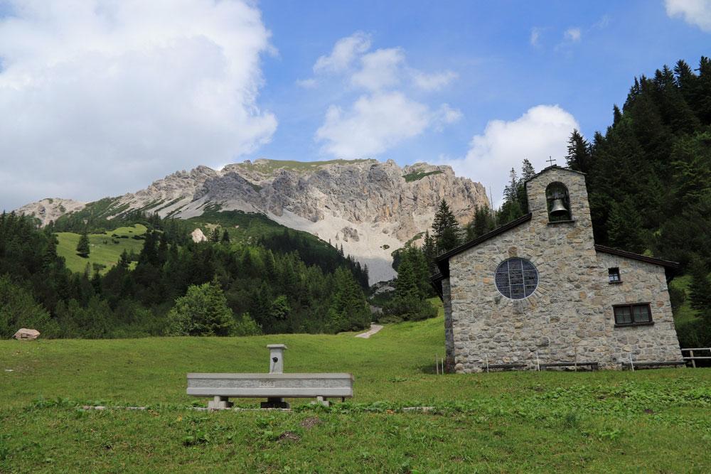Malbun Friedenskapelle Liechtenstein