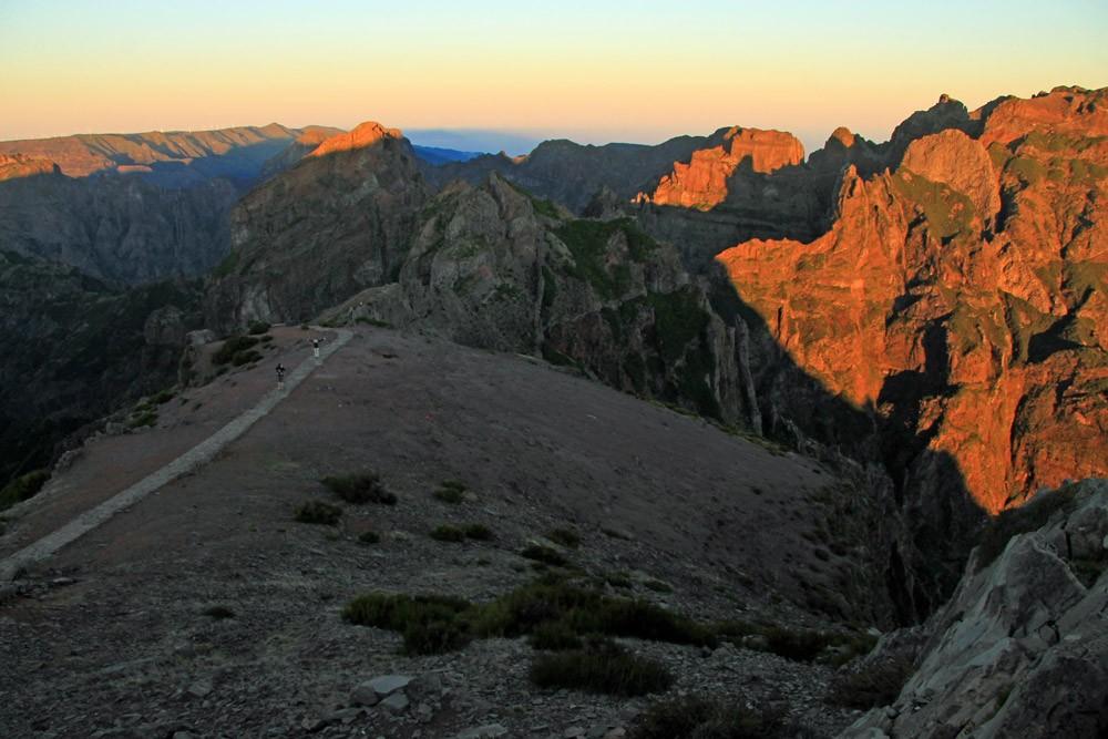 Pico do Arieiro zonsopkomst