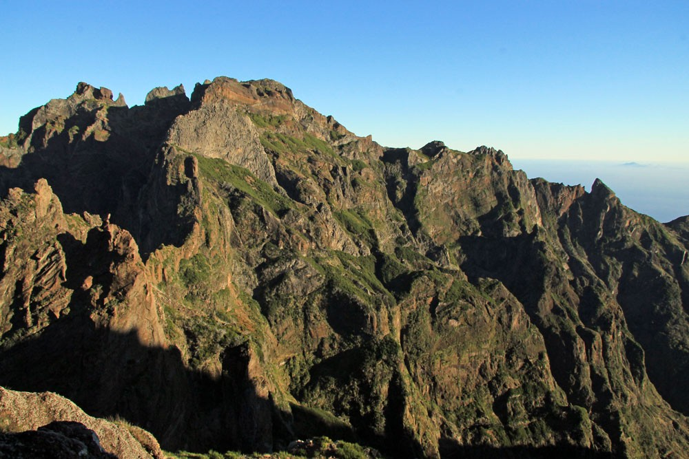 Madeira bergen centraal massief
