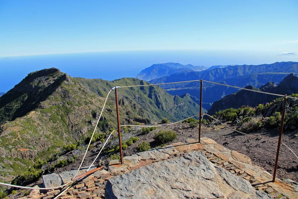 Pico Ruivo uitzicht
