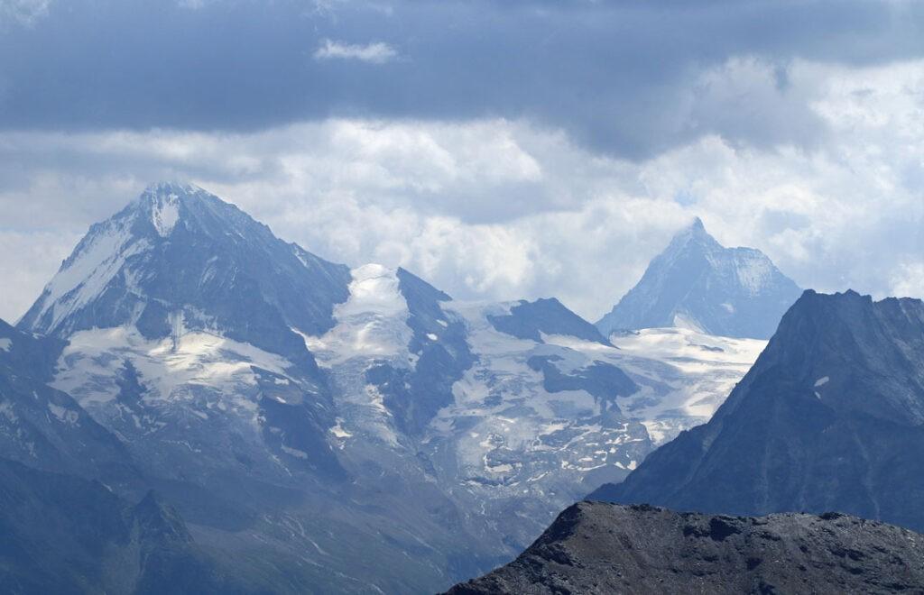 Dent Blanche en Matterhorn