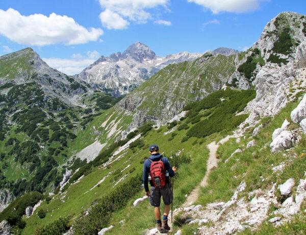 Slovenië Visevnik hike