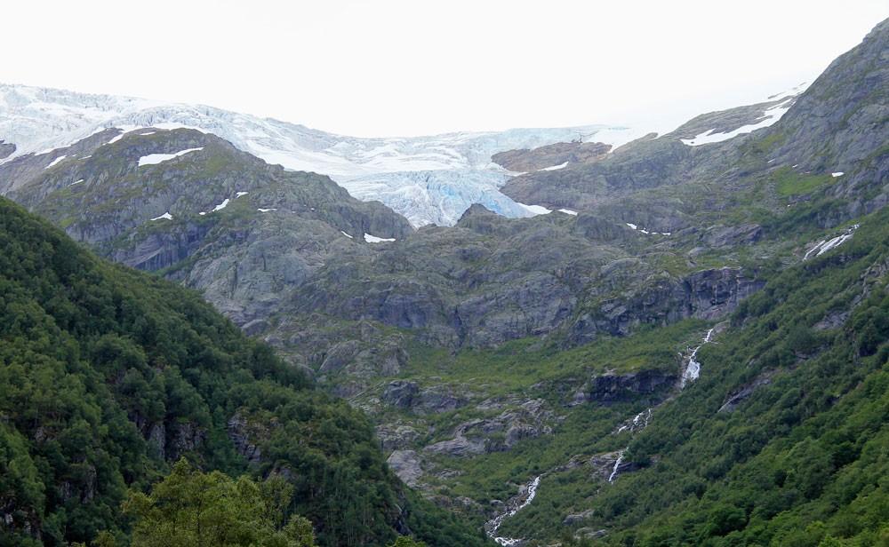Buarbreen gletsjer