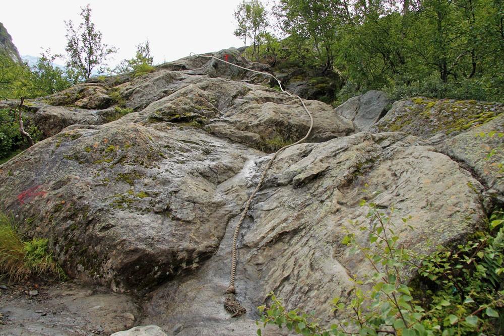 Norway Buarbreen hike touwen
