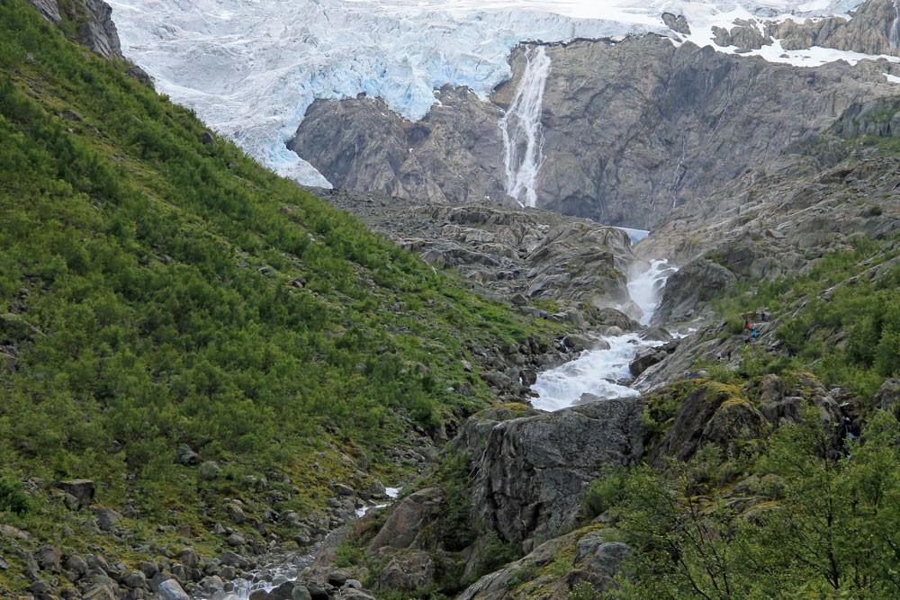 Noorwegen Buarbreen gletsjer