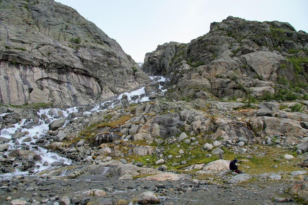 Norway Buarbreen gletsjer