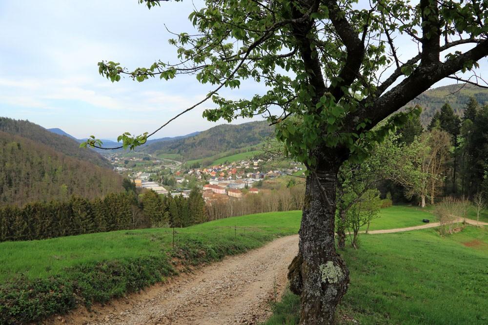 Sainte-Marie-aux-Mines Vogezen