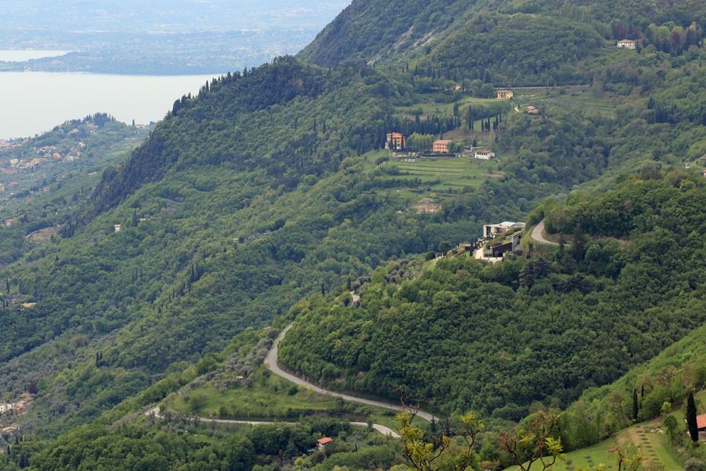 Uitzicht vanaf Sasso