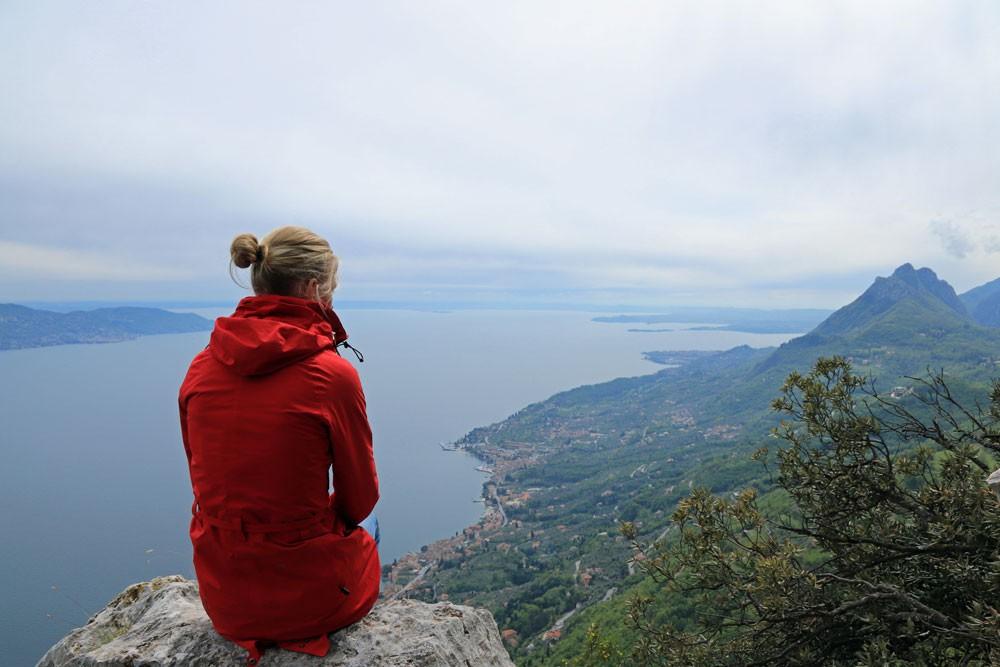 Uitzicht vanaf San Valentino