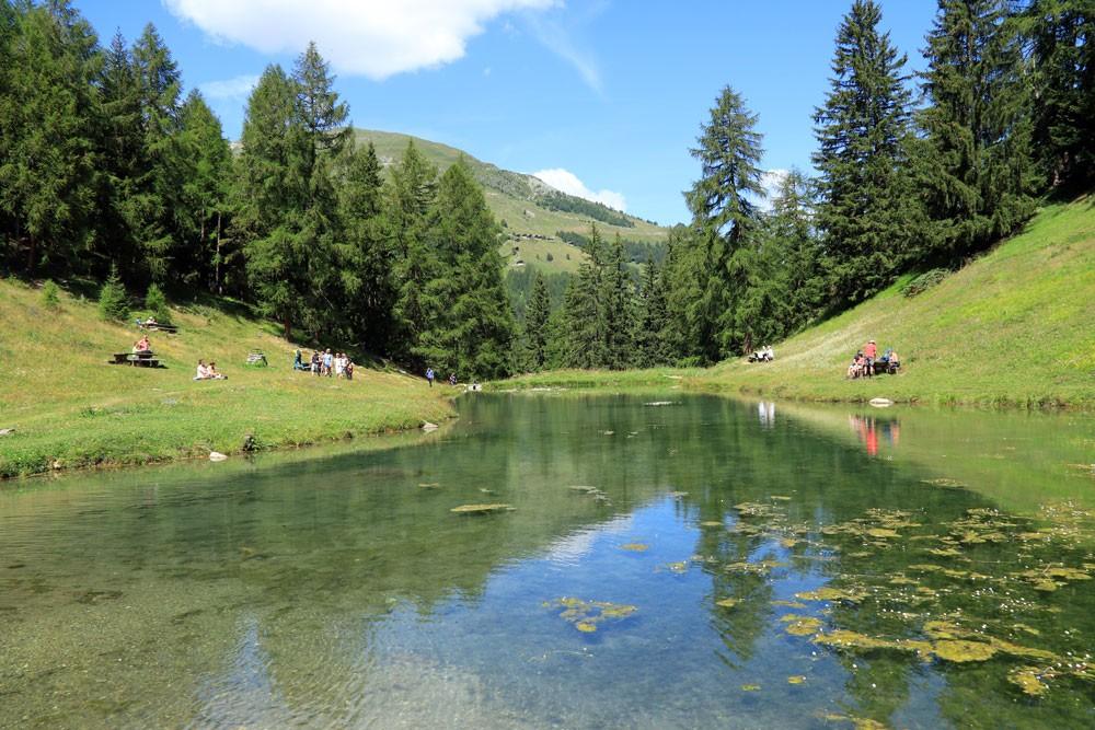 Lac d'Arbey Val d'Hérens