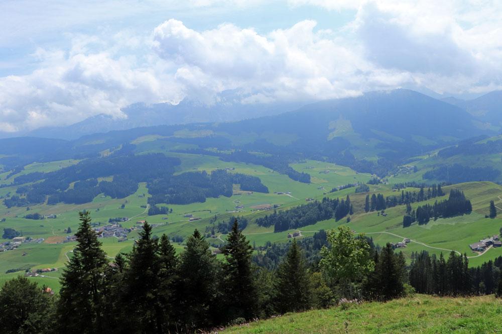 Uitzicht Hundwiler Höhi Alpstein