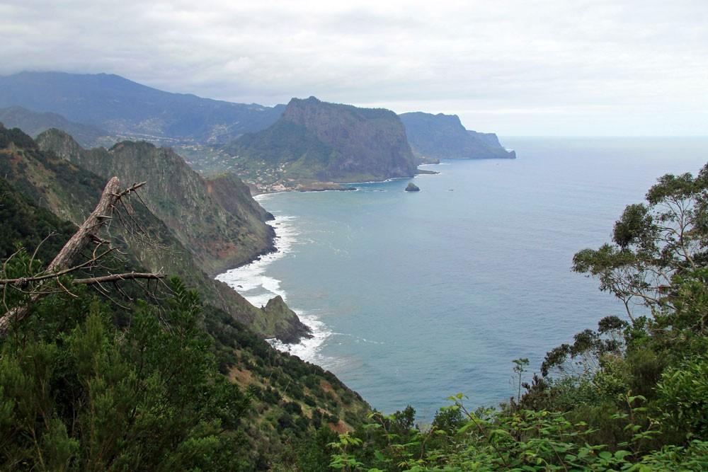 Kustpad Boca do Risco Porto da Cruz