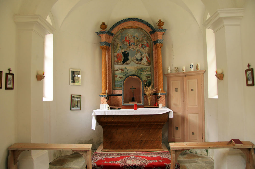 Pfistradalm St. Anna Chapel