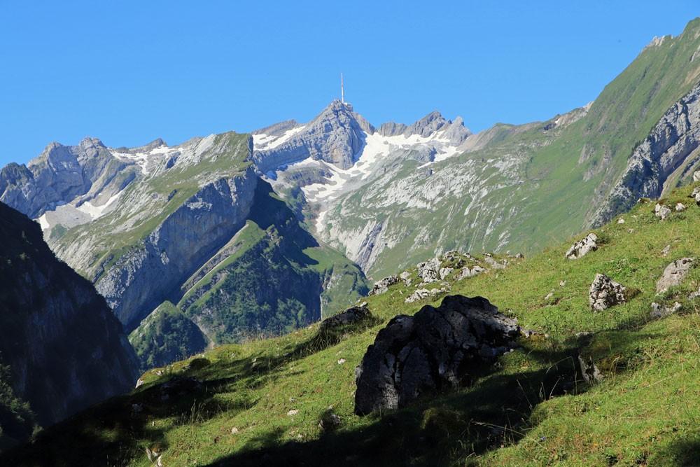 Alpstein uitzicht Säntis