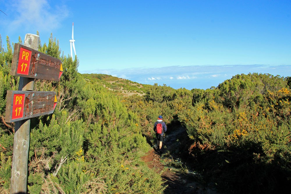 Startpunt Pinaculo hike