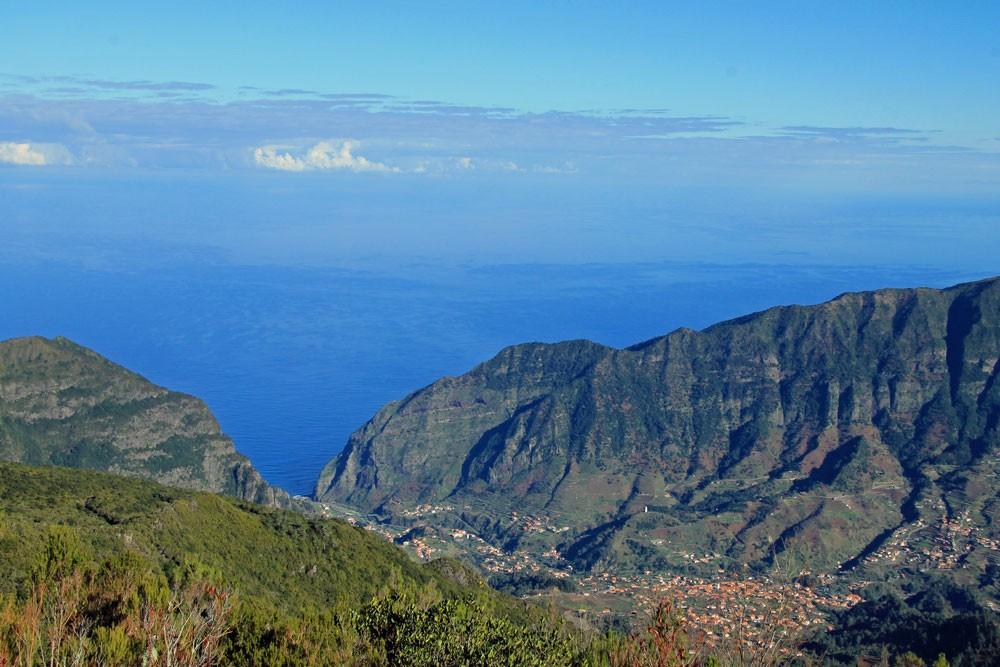 Uitzicht tijdens hike naar Pinaculo