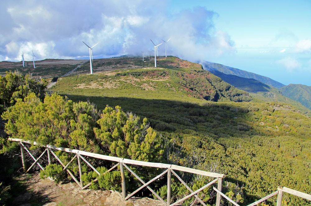 Uitzicht vanaf Bica da Cana Madeira